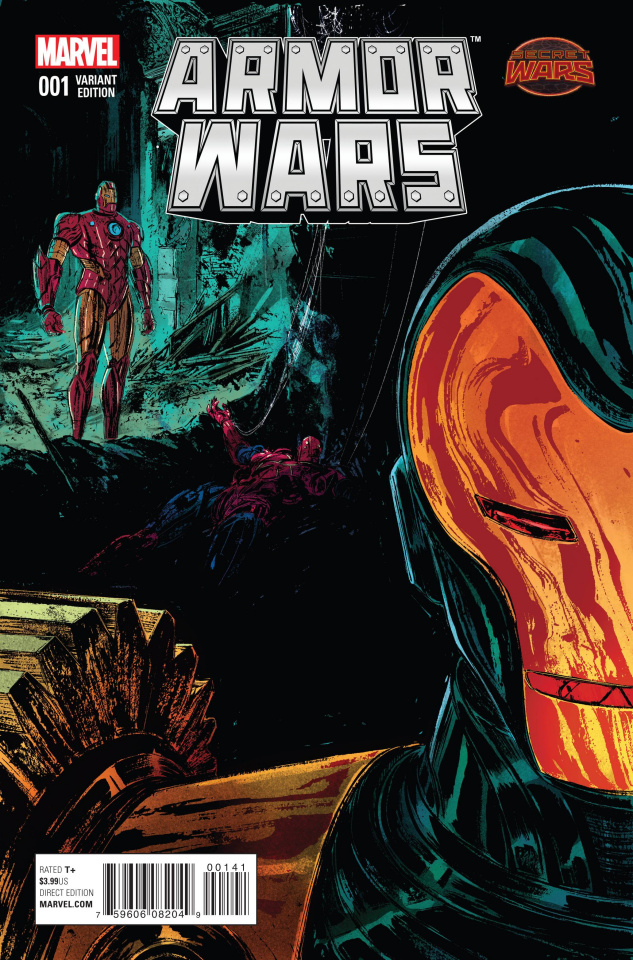 Armor Wars #1 (Del Rey Cover)