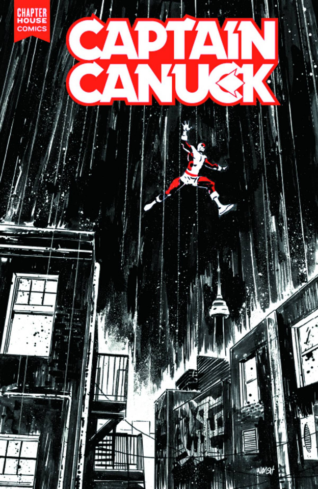 Captain Canuck #6 (Gallagher Cover)