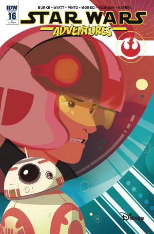 Star Wars Adventures #16 (10 Copy Baldari Cover)