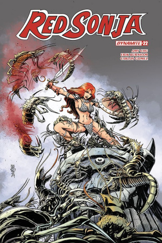 Red Sonja #22 (Mandrake Cover)