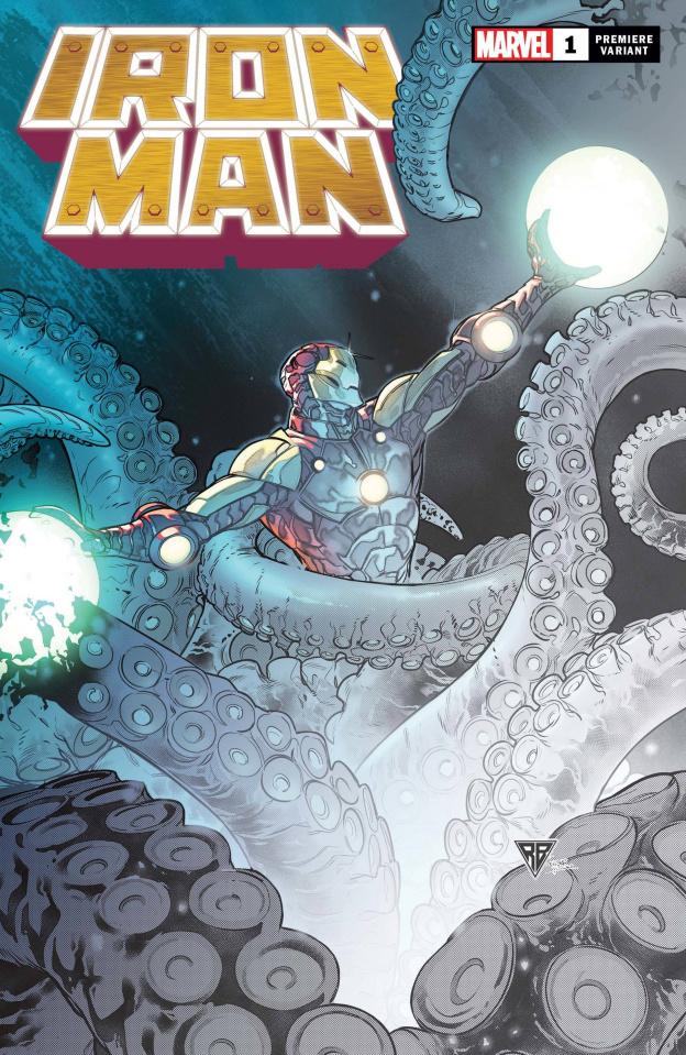 Iron Man #1 (Silva Premiere Cover)