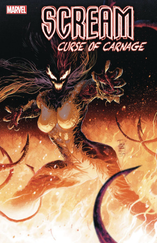 Scream: Curse of Carnage #6 (Tan Cover)