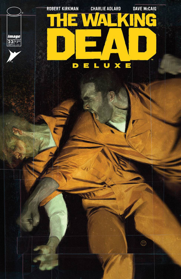 The Walking Dead Deluxe #23 (Tedesco Cover)