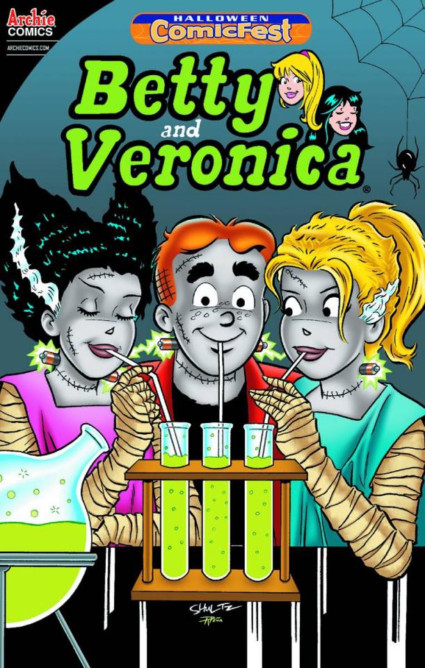 Betty & Veronica Halloween ComicFest 2014