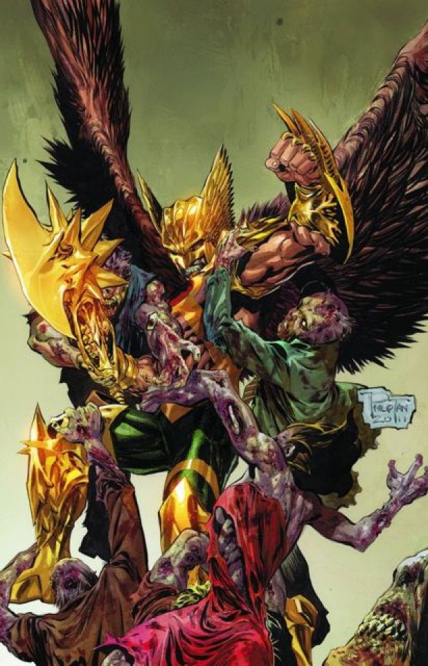 The Savage Hawkman #5