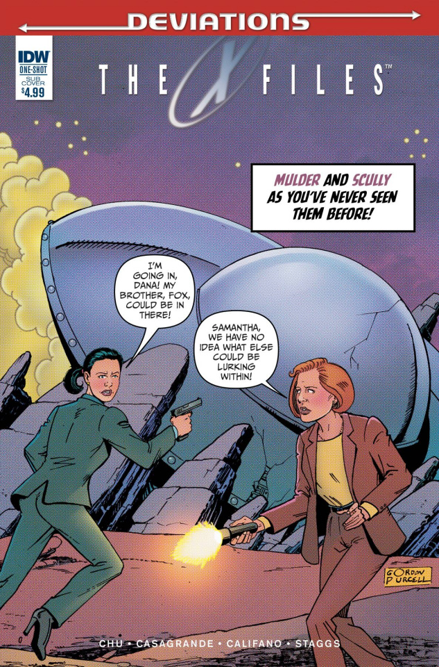 The X-Files: Deviations (Subscription Cover)