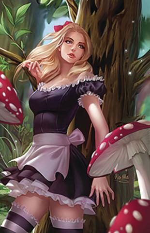 Revenge of Wonderland #4 (Mos Cover)