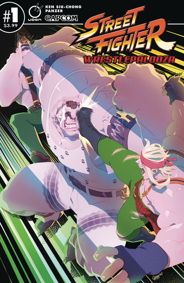 Street Fighter: Wrestlepalooza #1 (Cruz Cover)