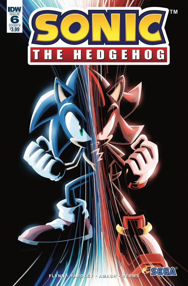 Sonic the Hedgehog #6 (Gray Cover)