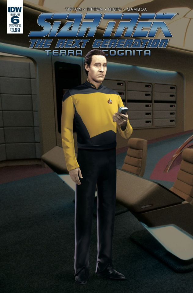 Star Trek: The Next Generation - Terra Incognita #6 (Photo Cover)