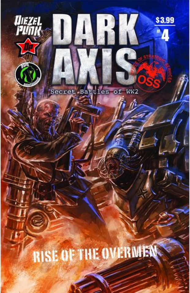 Dark Axis: Rise of the Overmen #4