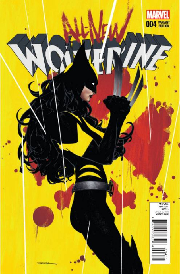 All-New Wolverine #4 (Sook Cover)