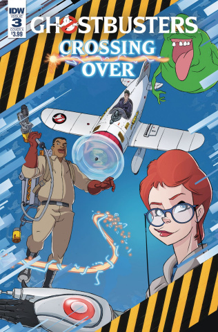 Ghostbusters: Crossing Over #3 (Schoening Cover)