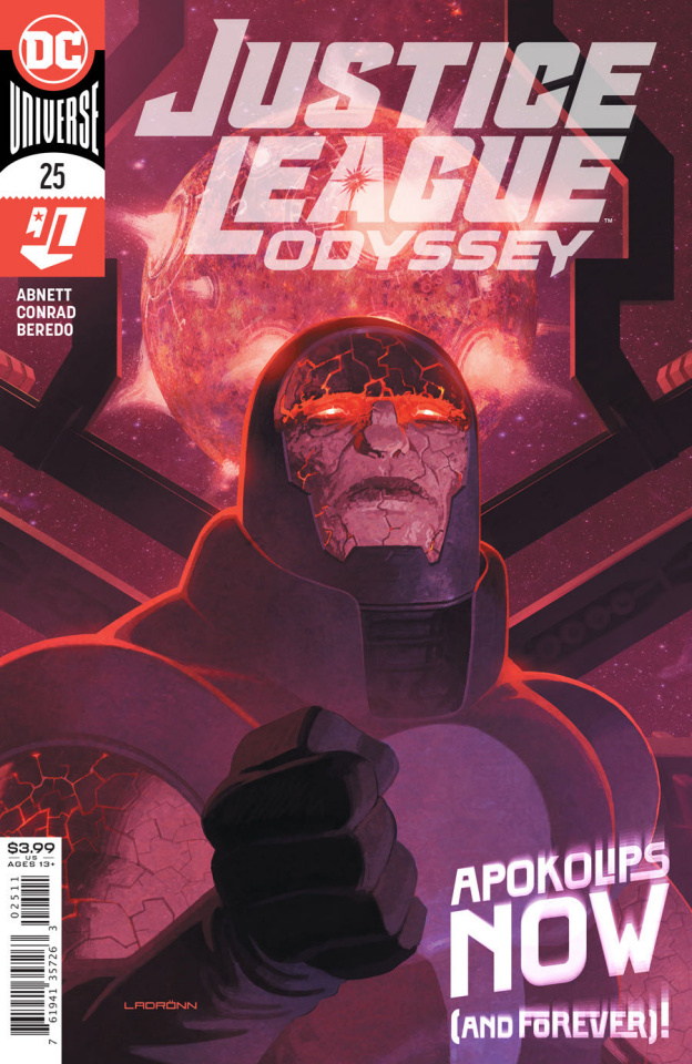 Justice League: Odyssey #25 (Ladronn Cover)