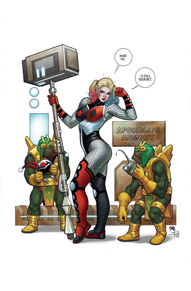 Harley Quinn #45 (Variant Cover)