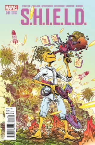 S.H.I.E.L.D. #11 (Stokoe Kirby Monster Cover)