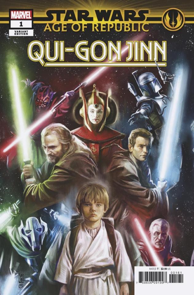 Star Wars: Age of Republic - Qui-Gon Jinn #1 (Camuncoli Promo Cover)