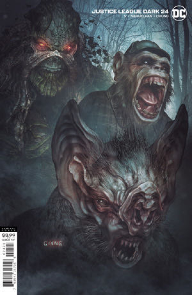 Justice League Dark #24 (John Giang Cover)