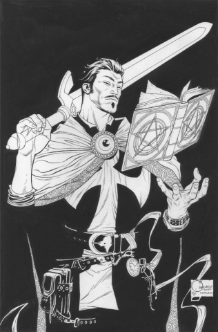 Doctor Strange #1 (Quesada Sketch Cover)