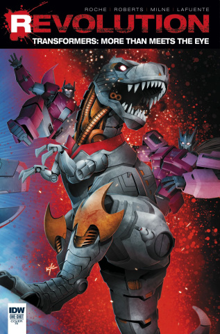 The Transformers: More Than Meets the Eye - Revolution #1 (10 Copy Cover)