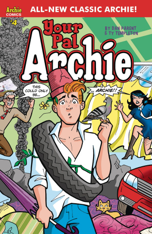 All-New Classic Archie: Your Pal Archie! #4 (Parent Cover)