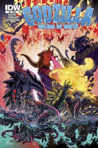 Godzilla: Rulers of Earth #21