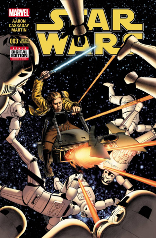 Star Wars #3 (Cassaday 2nd Printing)