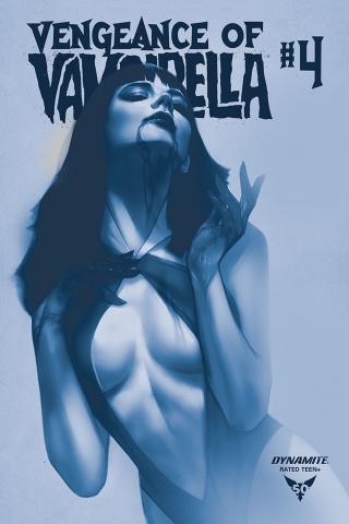 Vengeance of Vampirella #4 (40 Copy Oliver Tint Cover)
