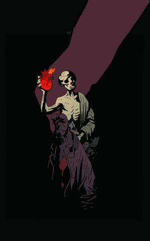 Hellboy in Hell #1 (2nd Printing)