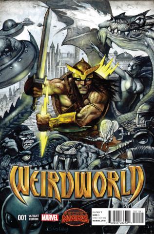 Weirdworld #1 (Bisley Cover)