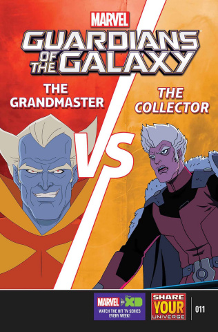 Marvel Universe: Guardians of the Galaxy #11