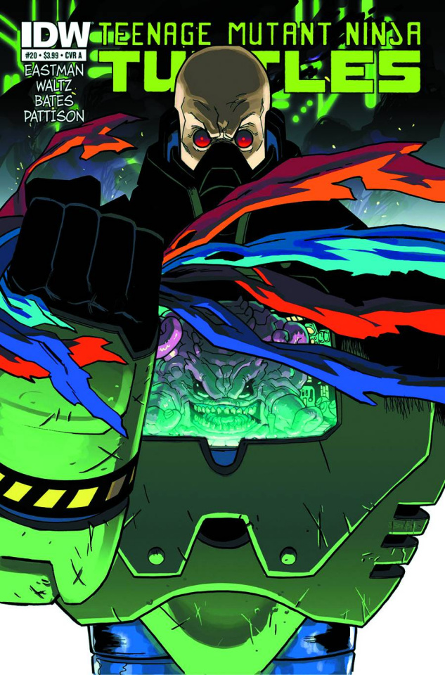 Teenage Mutant Ninja Turtles #20 (2nd Printing)