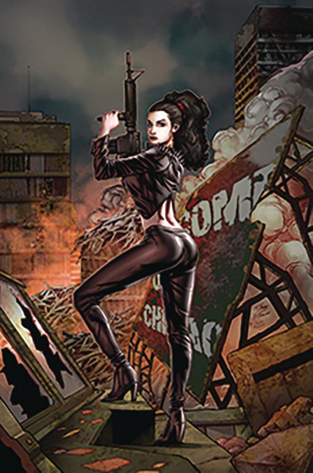 Monster Planet #3 (Vitorino Cover)