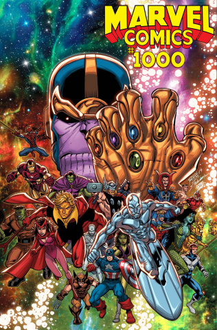 Marvel Comics #1000 (Lim '90s Cover)