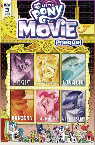 My Little Pony: The Movie Prequel #3 (Price Cover)