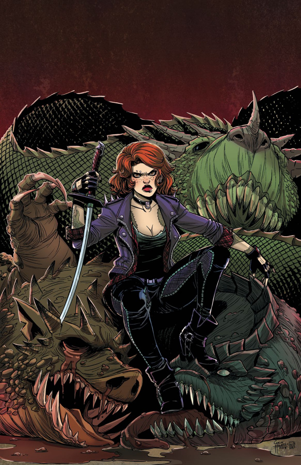 Calamity Kate #1 (Howell Pinto Cover)