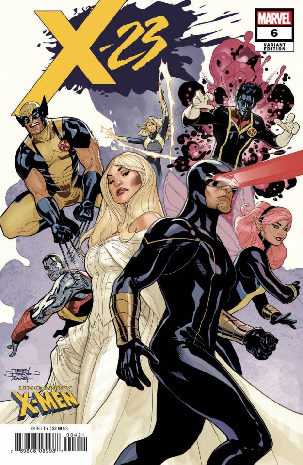 X-23 #6 (Dodson Uncanny X-Men Cover)