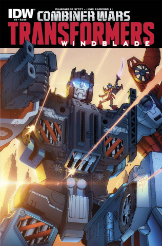 The Transformers: Windblade - Combiner Wars #2