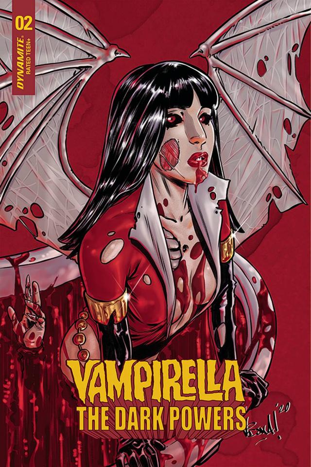 Vampirella: The Dark Powers #2 (10 Copy Federici Zombie Cover)