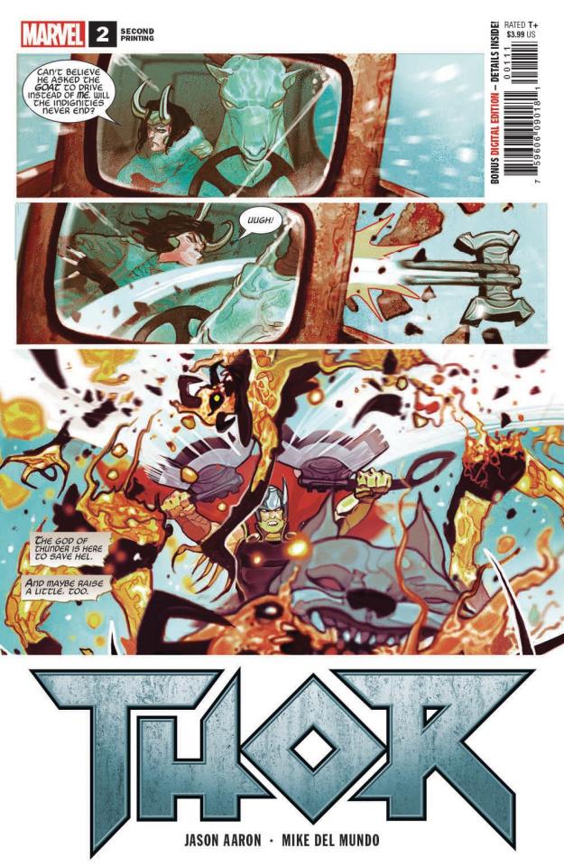 Thor #2 (Del Mundo 2nd Printing)