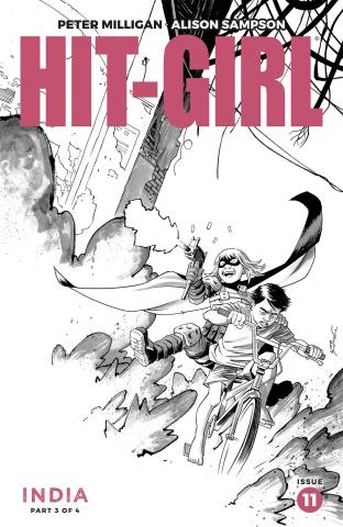 Hit-Girl, Season Two #11 (Shalvey Cover)