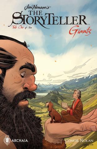 The Storyteller: Giants #1 (Mora Cover)