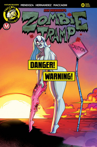 Zombie Tramp #61 (Federhenn Risque Cover)
