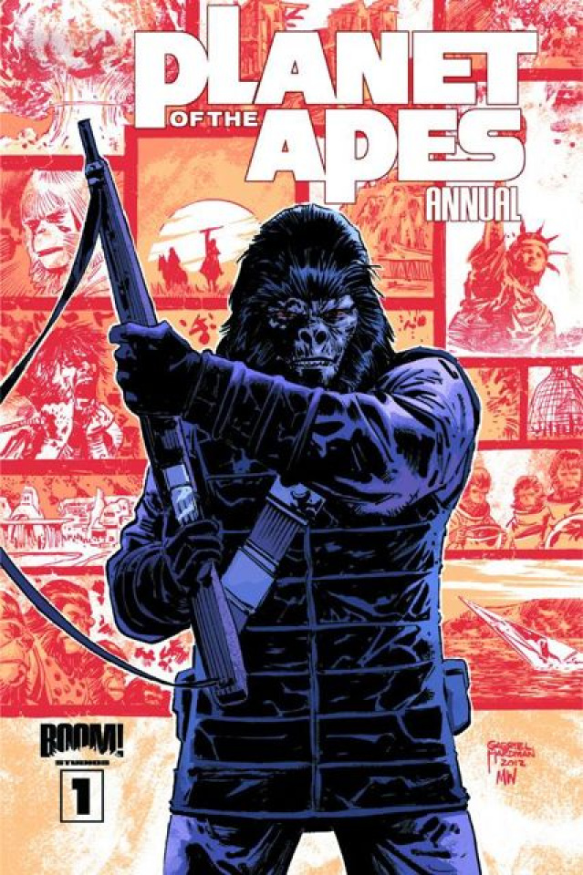 Planet of the Apes Annual #1