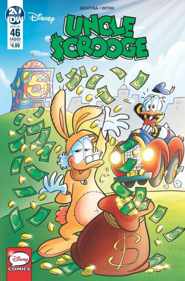 Uncle Scrooge #46 (Gervasio Cover)