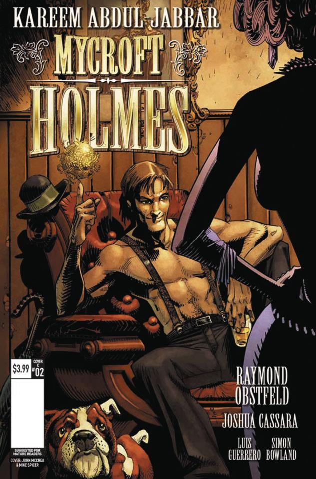 Mycroft Holmes #2 (McCrea Cover)