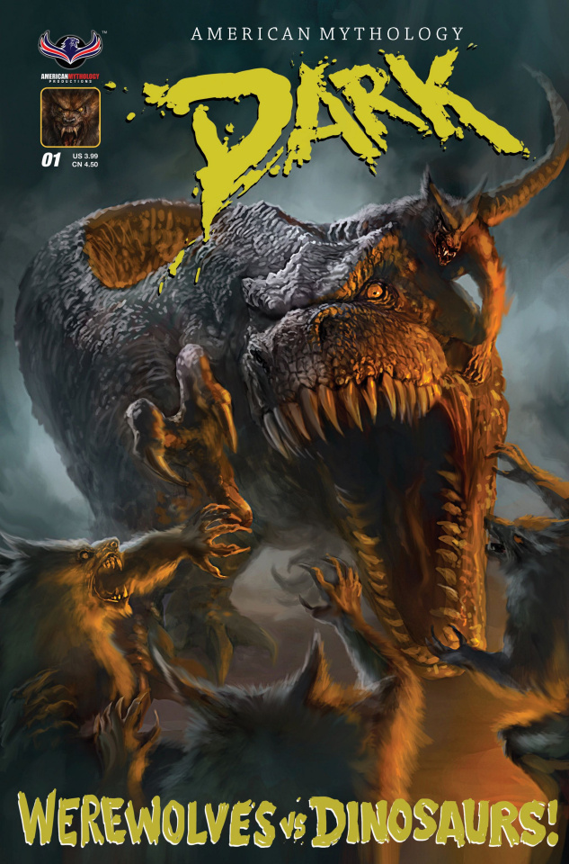 American Mythology Dark: Werewolves vs. Dinosaurs #1