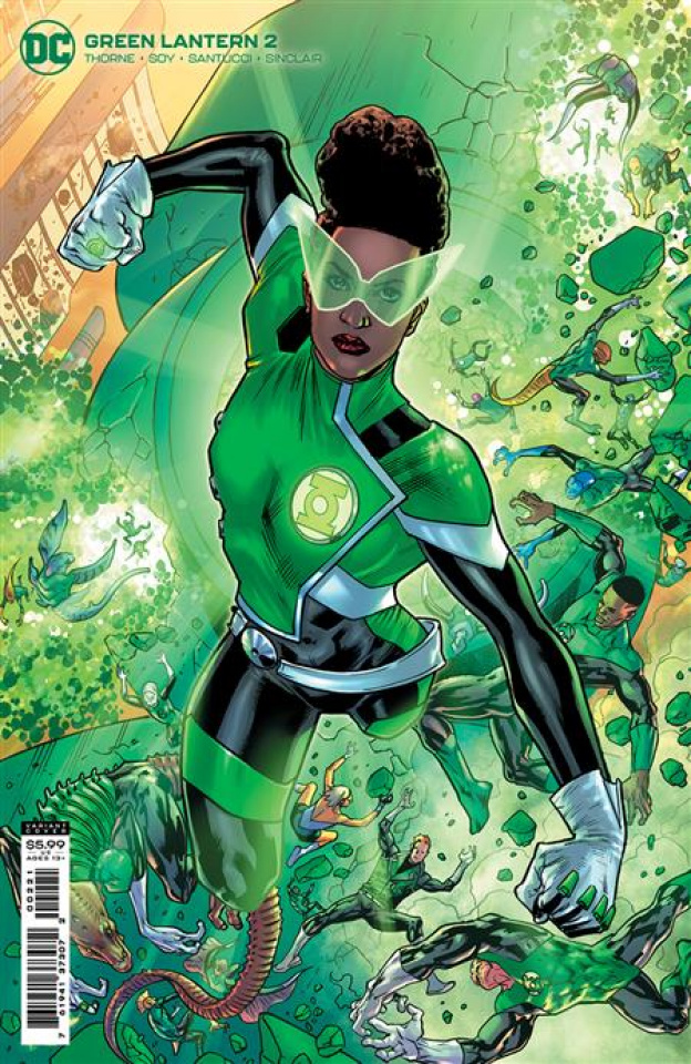 Green Lantern #2 (Bryan Hitch Card Stock Cover)