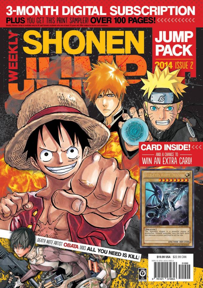 Shonen Jump Pack 2014 #2