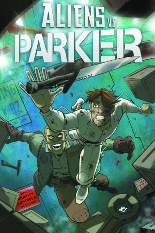 Aliens vs. Parker #4